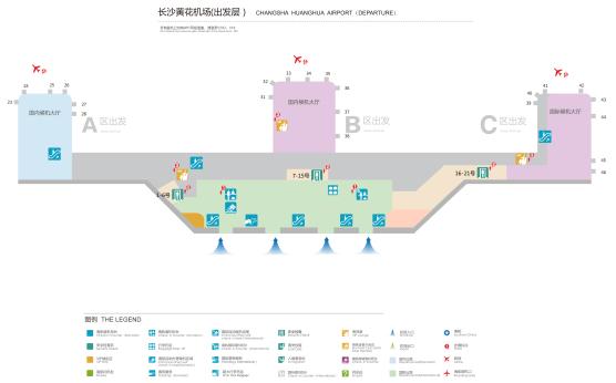 机场平面图