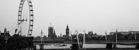 伦敦的所有景象简笔画