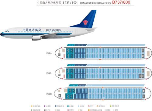 b737-800-波音-中国南方航空公司