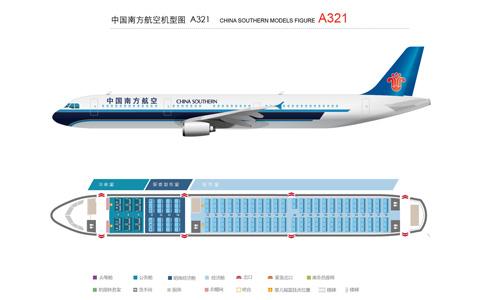 a321-空客-中国南方航空公司