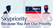 Skypriority. Because You Are Our Priority