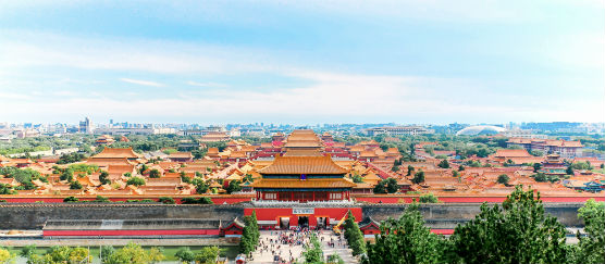 View destination guide for China